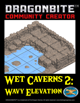 Wet Caverns 2: Wavy Elevation