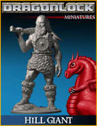 DRAGONLOCK Miniatures: Hill Giant