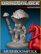 DRAGONLOCK Miniatures: Mushroomfolk