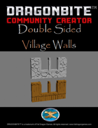 Double Sided Village Walls
