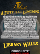 A Fistful of Dungeons - Library Walls