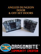 Angled Dungeon Door & Off-set Doors