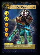DeepWars - Sea Dog Game Card - Fortune Hunters