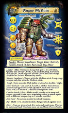 DeepWars - Fortune Hunter Game Cards - Tarot Sized