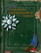 Little Red Goblin Games Racial Guide 4: Nontraditional Races