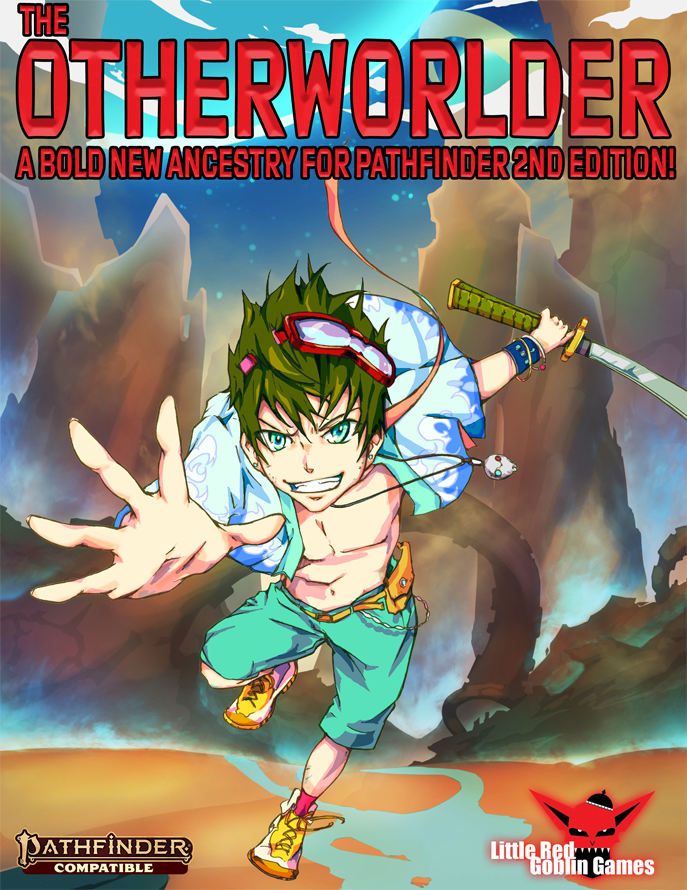 Otherworlder (Pathfinder 2nd Edition Ancestry) - Little Red Goblin Games |  Pathfinder 2nd Edition | DriveThruRPG com