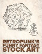 RetroPunk's Funny Fantasy Stock Art