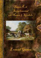 Tavern Kit Supplemental - 100 Names & Symbols