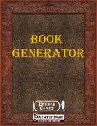 Book Generator