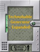 Technobabble Generator - Expanded