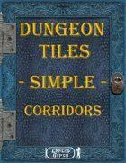 [Tiles] - Dungeon Tiles - Simple - Corridors