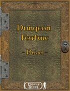 Dungeon Feature - Doors