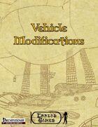 [PFRPG] - Vehicle Modifications