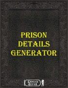 Prison Details Generator