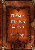 Name Maker Volume 1 - Halflings