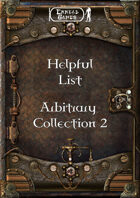 Helpful List Arbitrary Collection 2