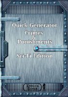 Quick Generator - Crimes & Punishments SciFI Edition