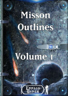 Mission Outlines Volume 1