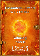 Encounters & Events - SciFi Volume 3 - Planets