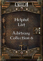 Helpful List Arbitrary Collection 6
