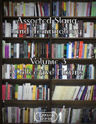 Assorted Slang and Terminology - Volume 3 - Collective Nouns