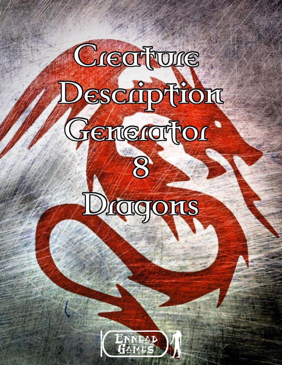 creature description generator volume 8 dragons ennead games