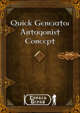 Quick Generator - Antagonist Concept