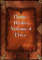 Name Maker Volume 4 - Elves