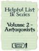 Helpful List 1K Series - 2 - Antagonsists