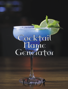 Cocktail Name Generator