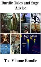 Bardic Tales and Sage Advice (Vol. 1-9) PDF