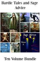 Bardic Tales and Sage Advice (Vol. 1-9) MOBI