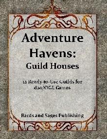 Adventure Havens: Guild Houses - Bards and Sages | Adventure Havens |  DriveThruRPG com