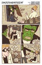 SMOOSHENSTEIN! (BONUS series in UNFASHIONED CREATURES, A Frankenstein Anthology)
