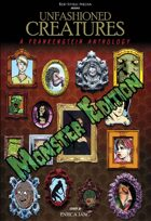 Unfashioned Creatures: A Frankenstein Anthology