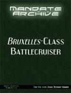 Mandate Archive: Bruxelles-class Battlecruiser
