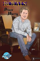 The Royals: Prince Harry comic book edition