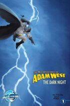 The Mis-Adventures of Adam West: The Dark Night #1