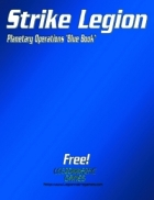 Strike Legion Planetary Operations 'Blue Book'  Demo Version