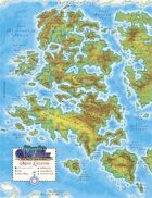 Murphy's World Map - Western Hemisphere