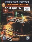 Star Fleet Battles: Module T 2012 Tournament SSD Book (B&W)