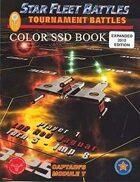 Star Fleet Battles: Module T 2012 Tournament SSD Book (Color)