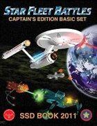 Star Fleet Battles: Basic Set SSD Book 2011 (B&W)