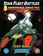Star Fleet Battles: Module C3A - The Andromedan Threat File SSD Book (B&W)