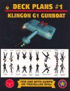 Klingon G1 Gunboat Deck Plans