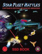 Star Fleet Battles: Advanced Missions SSD Book 2014 (B&W)