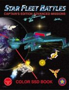Star Fleet Battles: Advanced Missions SSD Book 2014 (Color)