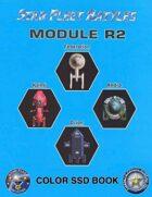 Star Fleet Battles: Module R2 SSD Book 2012 (Color)