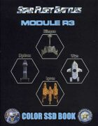 Star Fleet Battles: Module R3 SSD Book 2012 (Color)