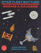 Star Fleet Battles: Module D3 Booms & Saucers (B&W)